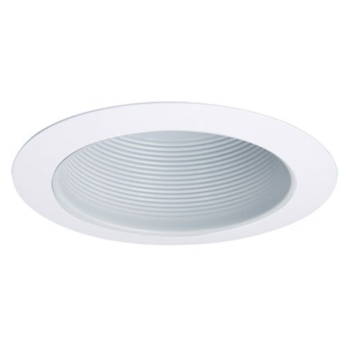 ALL-PRO Recessed APERT707WHT ALL-PRO 6-Inch High Gloss Trim with White Baffle