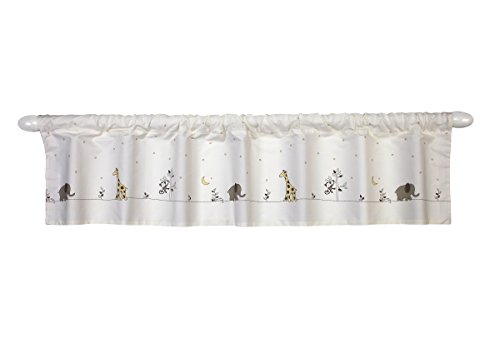 NoJo Dreamy Nights Window Valance (Nursery Valance)