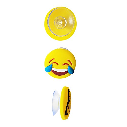 Emoji Charms with Suction 12 Pack, Perfect Markers for Everything from Wine Glass to Red Cups! Lifetime by Lifetime Inc (Image #2)