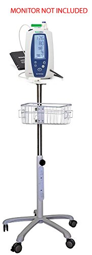 Welch Allyn Spot Vital Signs Monitor Mobile Stand (Stand Allyn Mobile Welch)