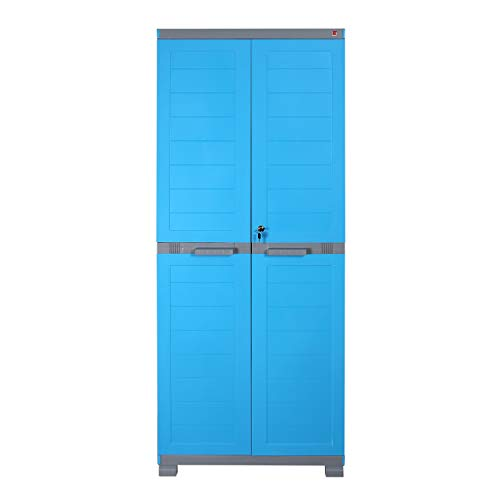 CelloCantonCupboard for Storage  Blue and Grey