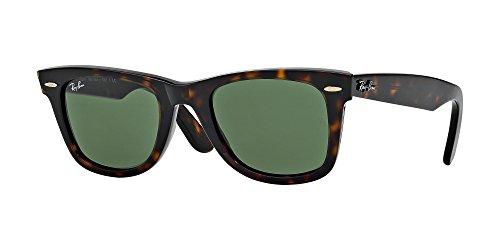 - Ray Ban RB2140 WAYFARER 902 54M Tortoise/Crystal Green Sunglasses For Men For Women