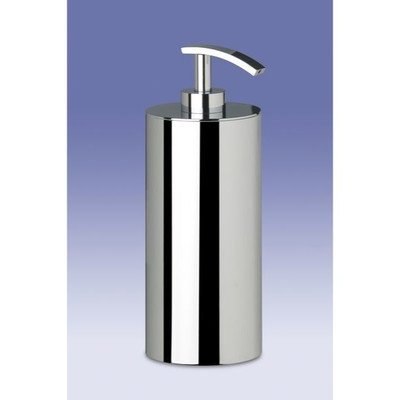 Windisch 90203-CR-637509844271 Complements Collection Brass Designer Hand Soap Dispenser, Chrome