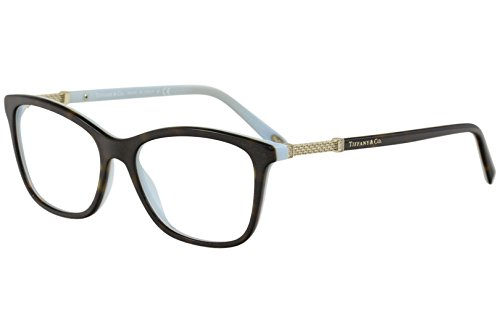 8e4dc49e4e77 Tiffany   Co. TF2116B - 8134 Eyeglass Frame HAVANA BLUE w  Clear Demo
