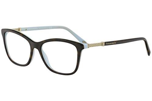 8770f71be372 Tiffany   Co. TF2116B - 8134 Eyeglass Frame HAVANA BLUE w  Clear Demo