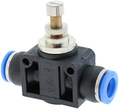 空気圧スピードコントローラ 空気圧クイック継手 バルブ T型 全5サイズ - 内径約10mm