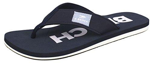 BOCKSTIEGEL Chanclas para hombres y mujeres | Varios diseños | Zapatillas de ducha | Suela antideslizante BEACH - Marina