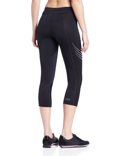 Gore running Wear Magnitude Lady - Pirata de running para mujer, color negro, talla 36