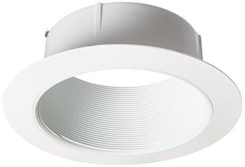 Halo 410WG PAR38 White Trim Ring R40 with White Baffle, Oversize, 6