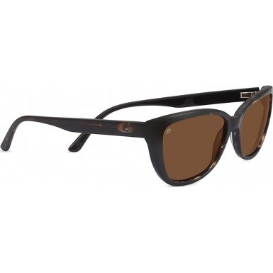 Serengeti 7891 Sophia Sunglass, Tortoise/Black Frame, Polarized Drivers - Women Sunglasses Serengeti For