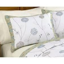 Cannon Darlene Embroidered Sham - Standard/Queen (20 x (Kmart Standard Pillowcase)