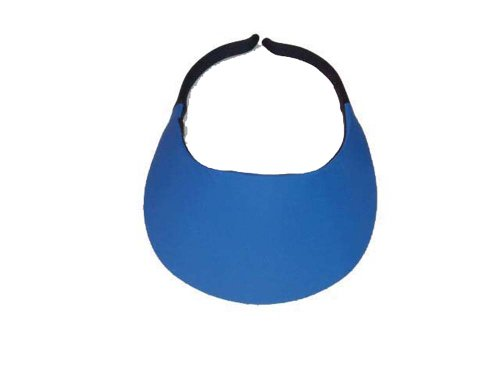 No Headache Midsize Visor (Blue Team Visor)