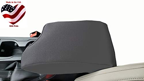Car Console Covers Plus Fits Subaru Crosstrek 2018-2019 Neoprene Center Armrest Cover for Center Console Lid Made in USA