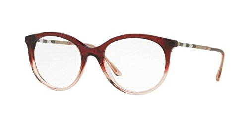 Burberry Women's BE2244Q Eyeglasses Bordeaux Gradient Pink - Burberry Frames