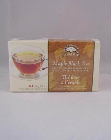 Canada True Maple Black Tea, 50 Tea bags, 112g (4.0oz), made in Canada (Maple Tea Canada)
