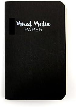 Prima Marketing ミックスメディアペーパーノート パーソナルサイズ