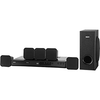 amazon com rca rt151 home theater system home audio theater rh amazon com RCA Surround Sound Speaker Placement RCA RTD3136