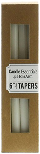 Slim Taper - 6 Inch - Box of 12 by HomArt