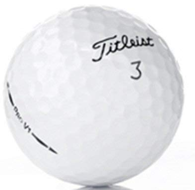 50 Near Mint Titleist Pro V1 AAAA Recycled Used Golf Balls, 50-Pack by Titleist