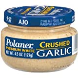 Polaner Crushed Garlic, 4.5 Ounce - 12 per case.