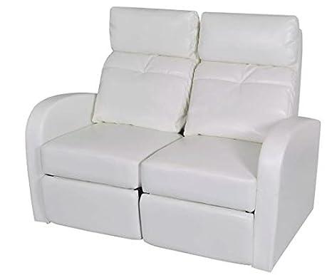 Amazon.com: New White 2-Seater 50.4