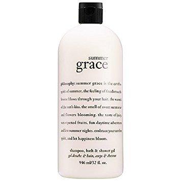 Philosophy Summer Grace Shampoo, Bath & Shower Gel 32 Fl. Oz