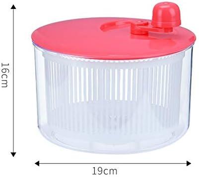 MJYT Salad Spinner Vegetables Leaf Lettuce Dryer Drainer Fruit Wash Clean Basket Plastic