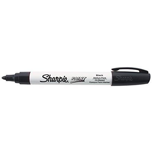 Sharpie Oil-Based Paint Marker, Medium Point, Black (SRP 35549) (Marker Oils)