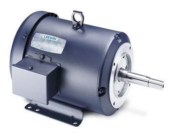 1 hp 1740 rpm 143jm frame tefc 208-230/460v leeson electric motor # 121855  - - amazon com