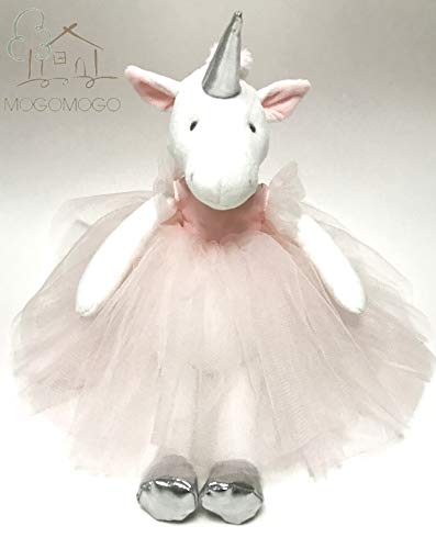 MOGOMOGO Luxury 34cm Hand-Made Plush Toy Supplier Soft Stuffed Unicorn in Pink Tutu,Best Gift Sale CE Pass]()