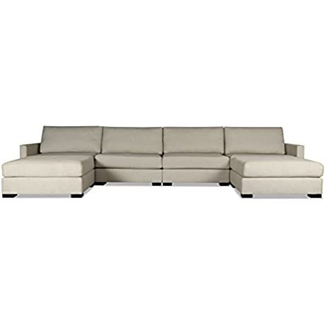 South Cone Home MYFR UL1 SAND Mayfair Modular Sectional Sand