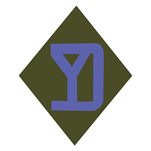 (26th Infantry SSI Yankee Division US Army Unit Insignia 5 Inch Tall - Indoor Outdoor Vinyl)