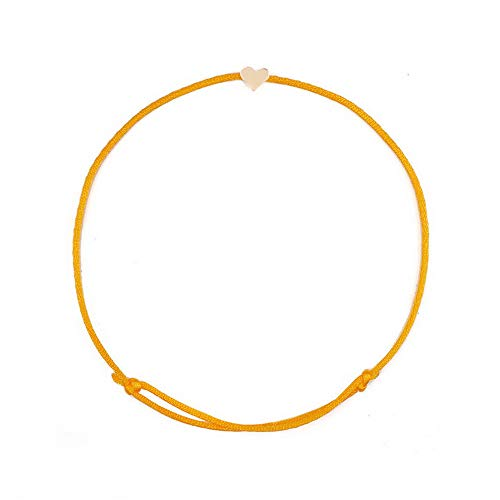 - Sandover 5pc Unisex Lucky Bracelet Rope Adjust Chain Bangles Charm Jewelry Gift | Model BRCLT - 24982 |