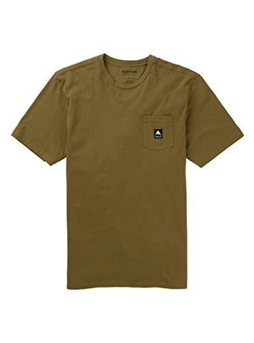 Short Sleeve Martini Shirt - Burton Men's Colfax Short Sleeve Tee, Martini Olive, Large