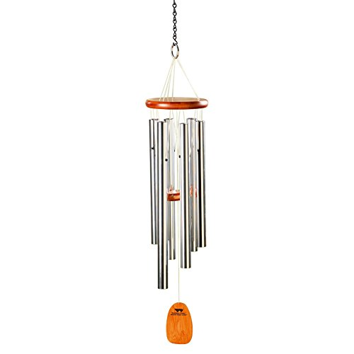 Woodstock Percussion, Inc. Custom Engraved Amazing Grace Aluminum Wind Chimes - Personalized Wind Catcher up to 4 Lines]()