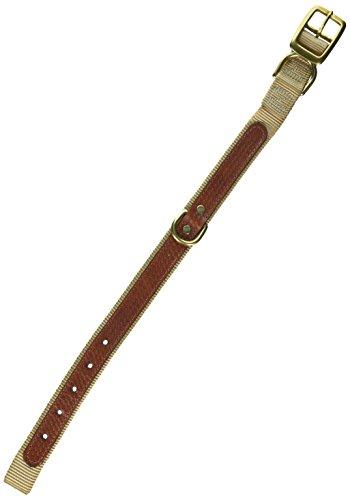 Woofwerks Cooper Overlay Collar, 1 by 18-Inch, Sandblast