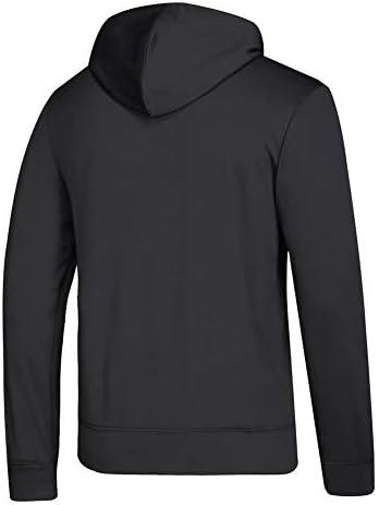 adidas Herren Pullover Columbus Blue Jackets NHL Goalie Pullover Hooded Sweatshirt