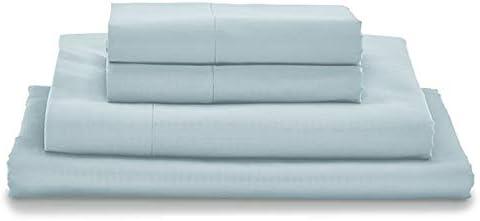 MyPillow Juego de sábanas de algodón Egipcio de Fibras largas 100 ...