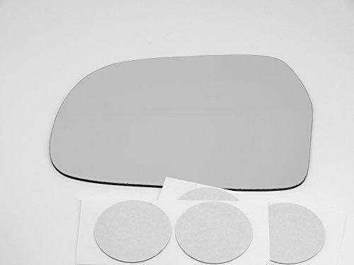 99-04 Chevy Tracker, Sz Vitara Left Driver Mirror Glass Lens w/Adhesive USA