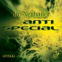 Dr Neubauer Anti特別なTable Tennisラバー B007ZI5OMO レッド 1.2 mm