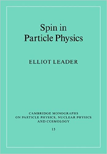 Book Spin in Particle Physics (Cambridge Monographs on Particle Physics, Nuclear Physics and Cosmology) by Elliot Leader (2005-10-06)