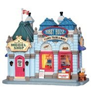 Lemax Village Collection ''Christmas Village Building, Porcelain Lighted House Hobby House with 6 Foot Cord