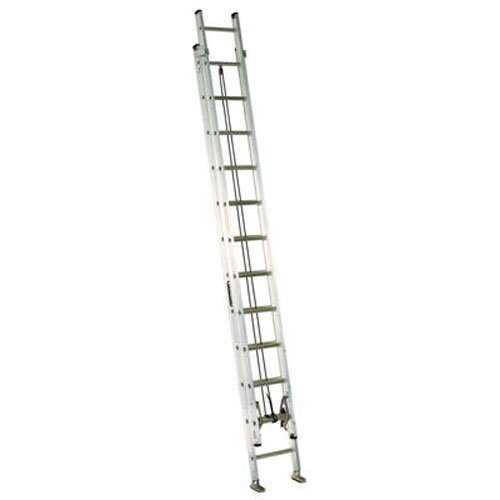 Louisville Ladder AE2224 Aluminum Extension Ladder 300-Pound Capacity, 24-Feet