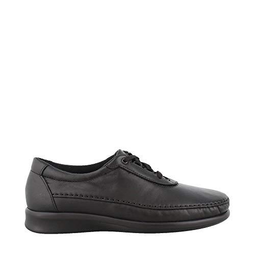 SAS Women's, Traveler Lace up Shoes Black 8.5 WW