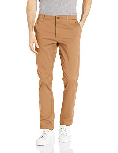 Goodthreads Men's Skinny-Fit Washed Chino Pant, British Khaki 36W x 28L ()