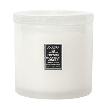 Amazoncom Voluspa French Bourbon Vanille Grande Maison Candle