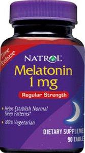 Melatonin Release Establish Patterns Natrol