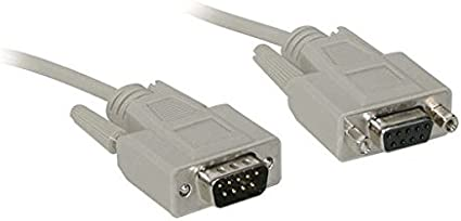 15 Feet, 4.57 Meters C2G 52037 DB9 F//F Serial RS232 Cable Black