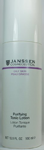 Skin Purifying Astringent (Janssen Cosmetics Oily Skin Purifying Tonic Lotion 500ml 16.9oz Prof Size)