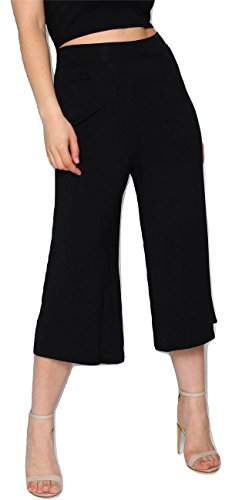 Donna amp;Ayat Pantaloni Pantaloni Fashions 42 Nero Momo 7vqpInZp